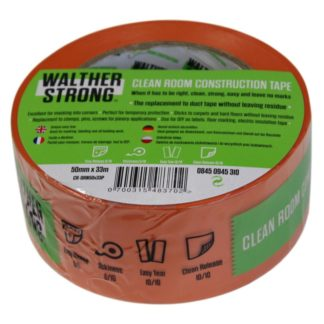 Walther Strong Cleanroom Construction Tape